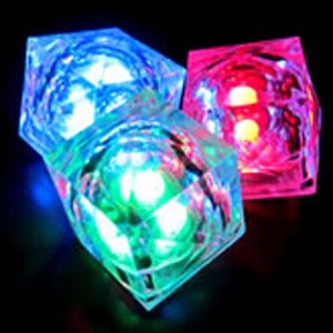 Drink Add On - Flashing Glow Cube
