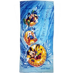 Disney Beach Towel - A Splash of Magic Mickey and Pals
