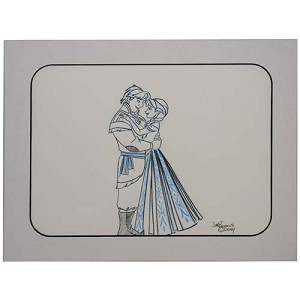 Disney Artist Sketch - FROZEN Anna and Kristoff