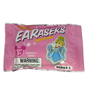 Disney Earasers Collector Pack - Series 2 - Disney Princess