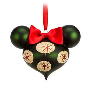 Disney Christmas Ornament - Retro Minnie Mouse