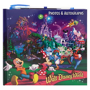 Disney Autograph and Photo Book - New Storybook Mickey Mouse & Friends