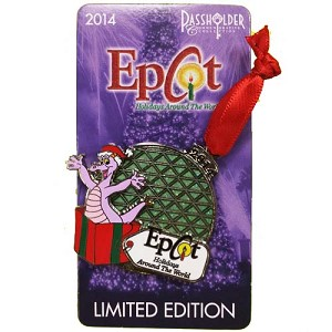 Disney Holidays Around The World Pin - 2014 Figment Passholder