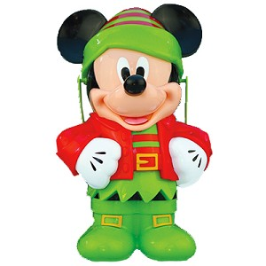 Disney Christmas Popcorn Bucket - Mickey Mouse Elf - 2014