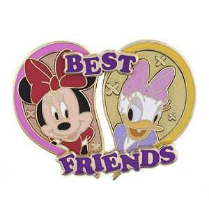 Disney Best Friends Pin - Minnie Mouse & Daisy Duck