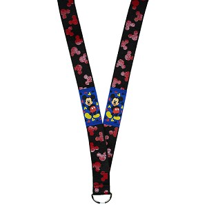 Disney Lanyard - Mickey Mouse with PVC