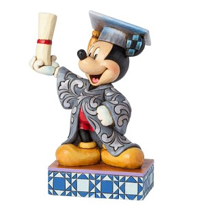 Disney Traditions by Jim Shore Figurine - Graduation Mickey