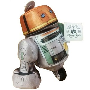 Disney Plush - Star Wars Astromech Droid - C1-10P Chopper