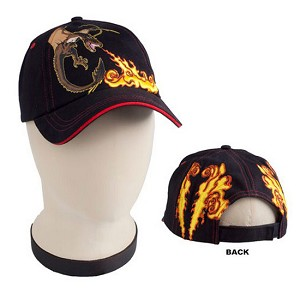 Universal Hat - Hungarian Horntail Dragon and Flames Cap