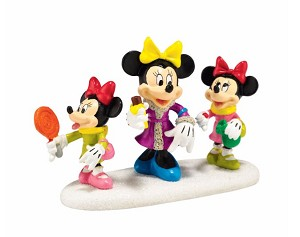 Disney Village Figurine - Minnie's Treats For Sweets