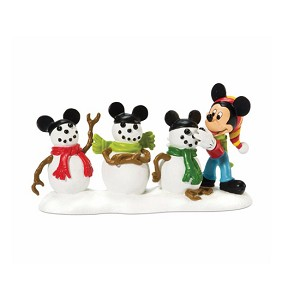 Disney Village Figurine - Mickey and The Three Mouseketeers