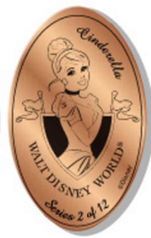 Disney Pressed Penny - Princess Collection - Cinderella