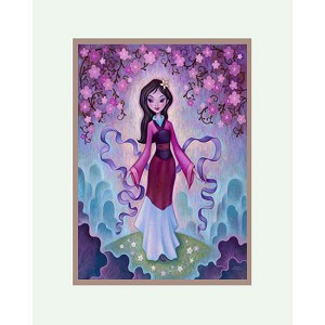 Disney Artist Print - Gentle The Late Blossoms by Jeremiah Ketner  14x18