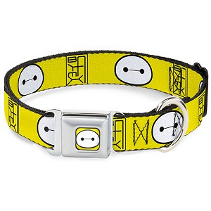 Disney Designer Pet Collar - Big Hero Six - Baymax - Hanko Face