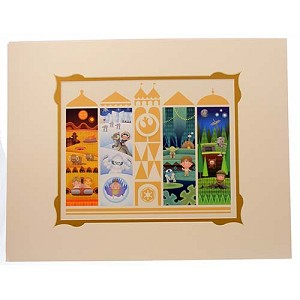 Disney Artist Print - It's A Small Galaxy After All by Jerrod Maruyama