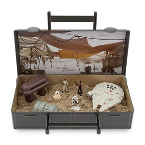 Disney Action Figure Playset - Star Wars - Jakku Sand Playset