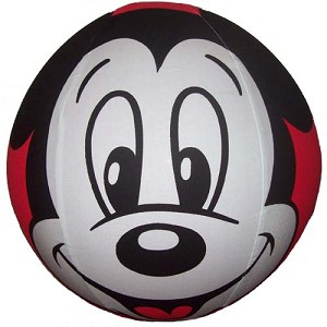 Disney Balzac Ball - 14 to 15 Inch Mickey Mouse RED FACE