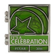 Disney Pixar Party Pin - Countdown Pin - Little Green Army Men