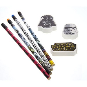 Disney Pencil & Eraser Set - Star Wars