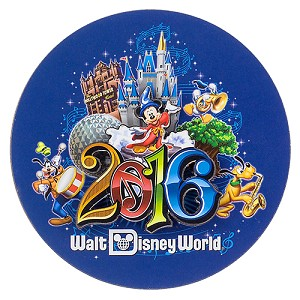 Disney Magnet 2016 Walt Disney World Logo