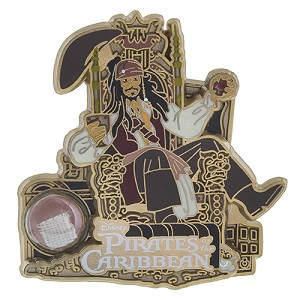 Disney Piece of WDW History Pin - Pirates of the Caribbean - Jack