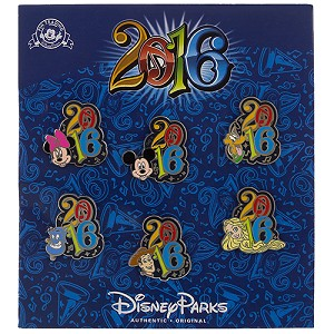 Disney Pin Trading Booster Set - 2016 Mickey & Friends