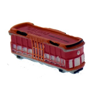 Disney Series 14 Mini Figure - Red Car Trolley