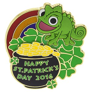 Disney St. Patrick's Day Pin - 2016 - Pascal