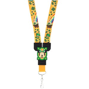 Disney Lanyard - Minnie and Mickey Mouse St. Patrick's Day