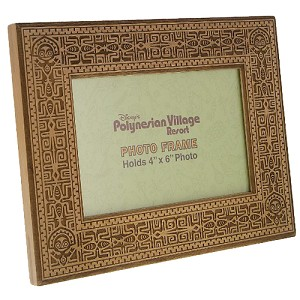 Disney Picture Frame - Polynesian Villages 4x6