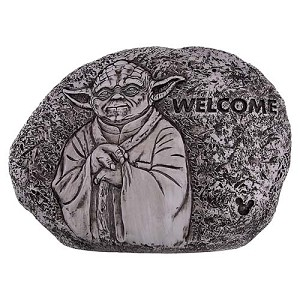 Disney Welcome Rock - Flower and Garden 2016 - Yoda