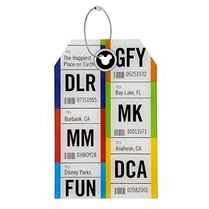 Disney Luggage Tag - Travel and Gear - Disney Parks