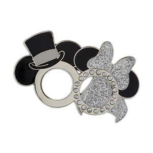 Disney Pin - Mickey and Minnie Mouse Wedding Ring