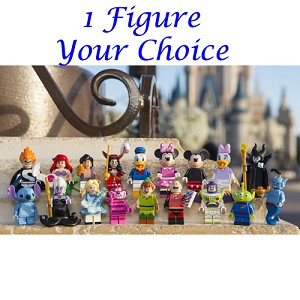 Disney Lego Mini Figure - 1 Choice