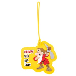 Disney Luggage Tag - Grumpy Til I Get There!