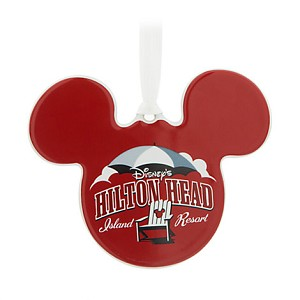 Disney Disc Ornament - Mickey Icon - Hilton Head Island Resort