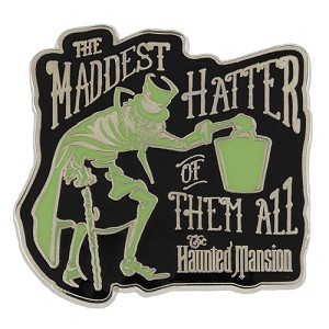 Disney Haunted Mansion Pin - The Maddest Hatter