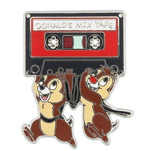 Disney Chip and Dale Pin - Cassette Tape