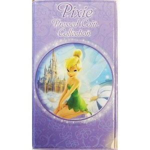 Disney Pressed Penny Collector Book - Tinker Bell Pixie 2nd Edition