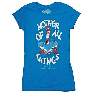 Universal Ladies Shirt Seuss Landing Mother Of All Things