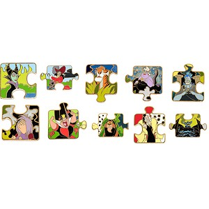 Disney Character Connection Pin - Villians Puzzle - Choice