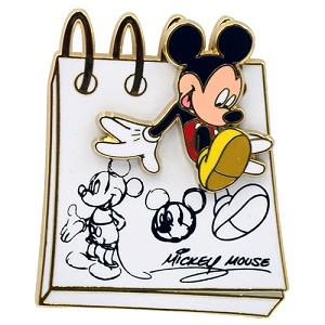 Disney Mickey Pin - From the Sketch Pad