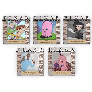 Disney Pixar Party Boxed Pin Set - Pixar Quotes