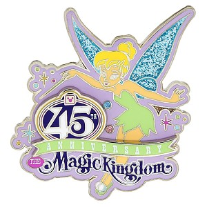 Disney Magic Kingdom Pin - 45th Anniversary - Tinker Bell