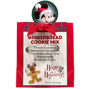 Disney Happy Holidays - Gingerbread Cookie Mix and Cutter