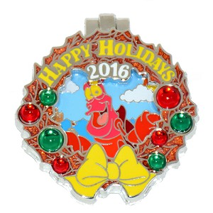 Disney Resort Holidays Pin 2016 - Caribbean Beach Sebastian The Crab
