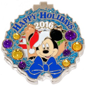 Disney Resort Holidays Pin 2016 - Old Key West Mickey Mouse