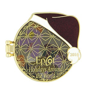 Disney Holidays Around The World Pin - 2016 Figment Logo
