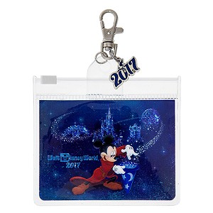 Disney Lanyard Pouch - Dated 2017 - Disney Parks
