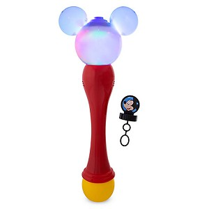 Disney Toy - Character Bubble Glow Wand - Mickey Mouse